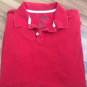 Other - Red collared shirt